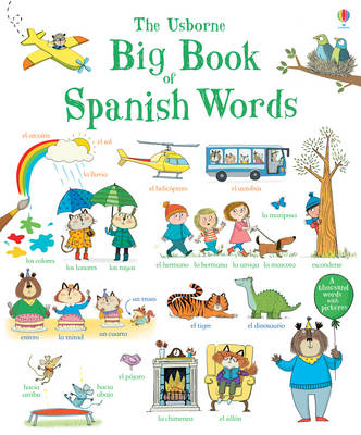 Big Book of Spanish Words by Mairi Mckinnon
