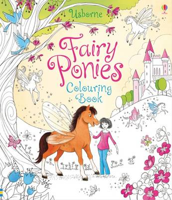 Fairy Ponies Colouring Book by Lesley Sims, Zanna Davidson
