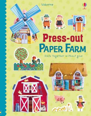 Press-Out Paper Farm by Fiona Watt