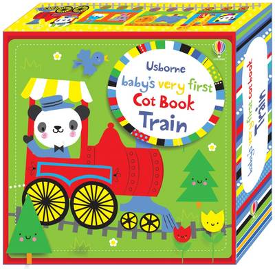 Baby's Very First Cot Book Train by Fiona Watt