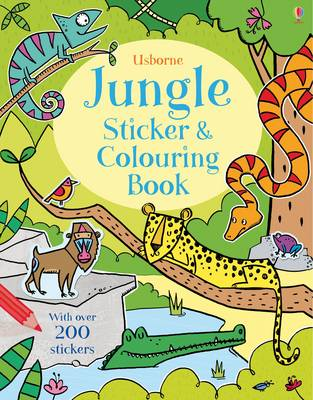 Jungle Sticker and Colouring Book by Alice Primmer