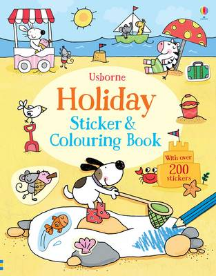 Holiday Sticker and Colouring Book by Jessica Greenwell