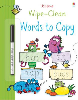 Wipe-Clean Words to Copy by Jessica Greenwell