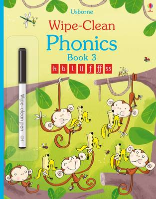Wipe-Clean Phonics by Mairi Mackinnon