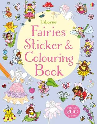 Fairies Sticker & Colouring Book by Jessica Greenwell