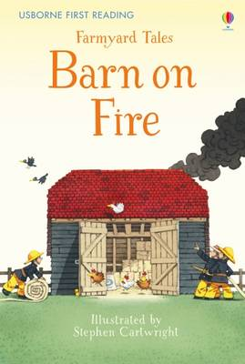 Farmyard Tales Barn on Fire by Heather Amery