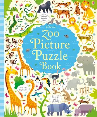 Zoo Picture Puzzle Book by Kirsteen Robson