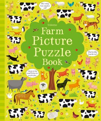 Farm Picture Puzzle Book by Kirsteen Robson