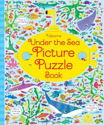 Under the Sea Picture Puzzle Book by Kirsteen Robson