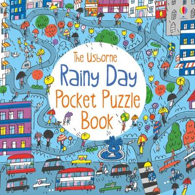 Rainy Day Pocket Puzzle Book by