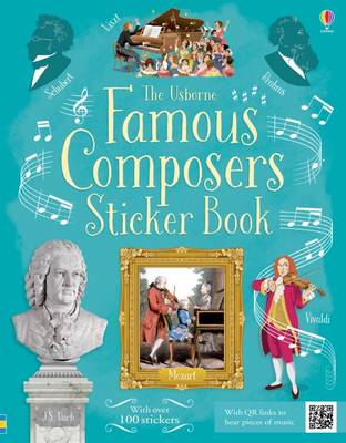 Famous Composers Sticker Book by Anthony Marks