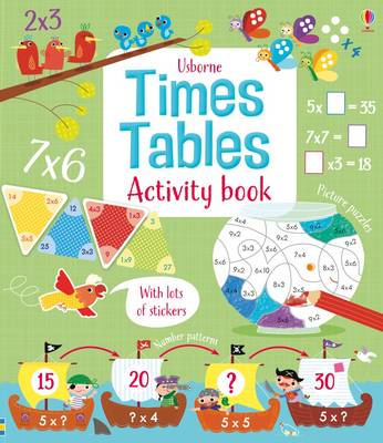 Times Tables Activity Book by Rosie Hore, Rosie Dickins