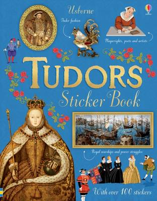 Tudors Sticker Book by Emily Bone