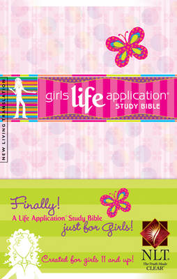 Kid's Life Application Bible for Girls-Nlt by Tyndale House Publishers