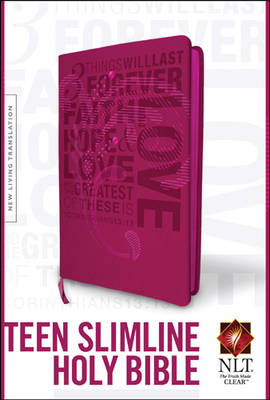 Teen Slimline Bible-NLT by Tyndale House Publishers