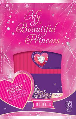 My Beautiful Princess Bible-NLT-Magnetic Closure by