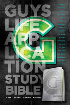Guys Life Application Study Bible-NLT-Iridium by