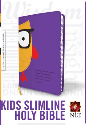 Slimline Reference Bible-NLT-Owl by Tyndale House Publishers