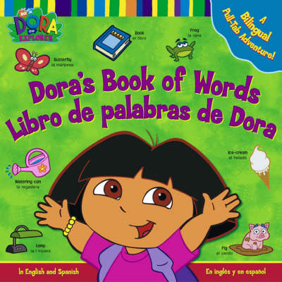 Dora's Book of Words by Nickelodeon
