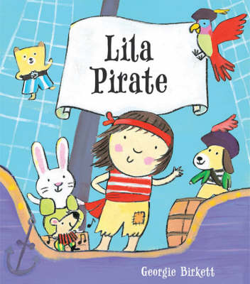 Lila Pirate by Georgie Birkett