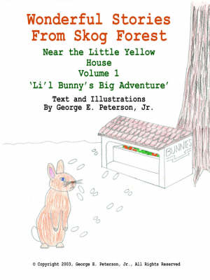 Wonderful Stories From Skog Forest Near the Little Yellow House Volume 1 'Li'l Bunny's Big Adventure' by George E. Peterson Jr.