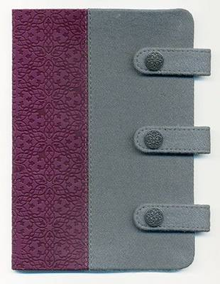 Compact Ultraslim Bible-NKJV-Designer Snap Closure by Nelson Bibles