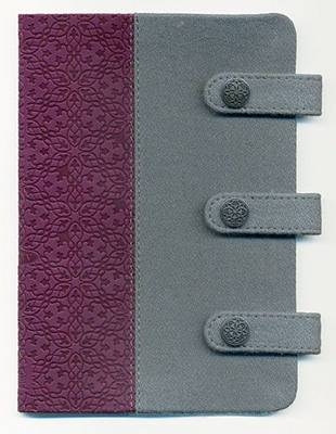 Compact Ultraslim Bible-KJV-Designer Snap Closure by Nelson Bibles