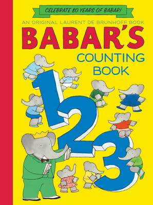 Babar's Counting Book by Laurent de Brunhoff