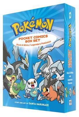 Pokemon Pocket Comics Box Set Black & White / Legendary Pokemon by Santa Harukaze, Santa Harukaze