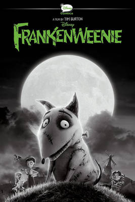 Frankenweenie A Graphic Novel by Tim Burton, Disney Book Group, Helen Chen, Alessandro Ferrari