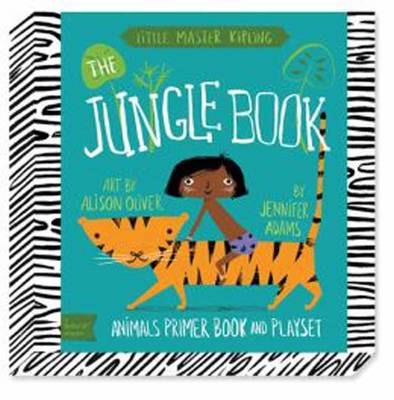 Babylit Jungle Book Playset Animal Primer Book and Playset by Alison Oliver