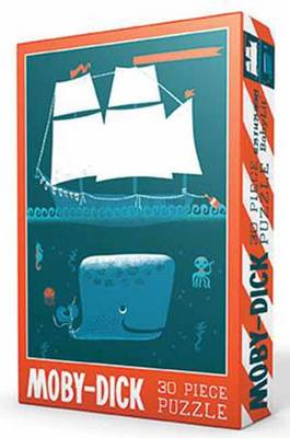 Babylit Puzzles 30-Piece Jigsaw Puzzle Moby Dick Frankstein Friends by