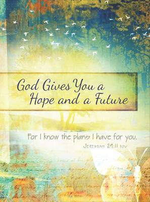God Gives You Hope and a Future: Scripture Journal for Teens by Belle City Gifts