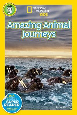 National Geographic Readers Great Migrations Amazing Animal Journeys by Laura Marsh