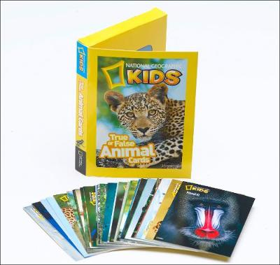 True or False Animal Cards by National Geographic, National Geographic