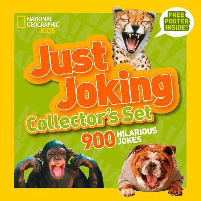 Just Joking Collector's Set 900 Hilarious Jokes by National Geographic Kids