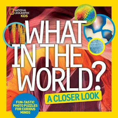 What in the World: A Closer Look Fun-Tastic Photo Puzzles for Curious Minds by National Geographic Kids
