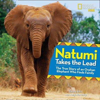 Natumi Takes the Lead The True Story of an Orphan Elephant Who Finds Family by Gerry Ellis, Amy Novesky
