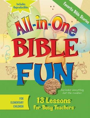 All-in-one Bible Fun Elementary Favorite Stories of the Bible by Abingdon Press