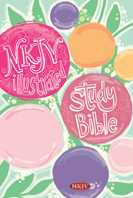 Illustrated Study Bible for Kids-NKJV-Girls by Broadman & Holman Publishers