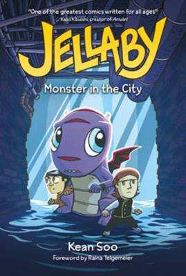 Jellaby Monster in City by Kean Soo