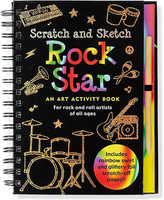 Scratch & Sketch Rock Star by Martha Day Zschock