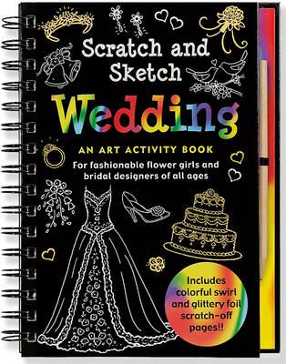 Scratch & Sketch Wedding by Martha Day Zschock