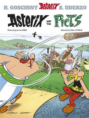 Asterix and the Picts Album 35 by Jean-Yves Ferri, Rene Goscinny, Albert Uderzo