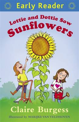 Lottie and Dottie Sow Sunflowers by Claire Burgess