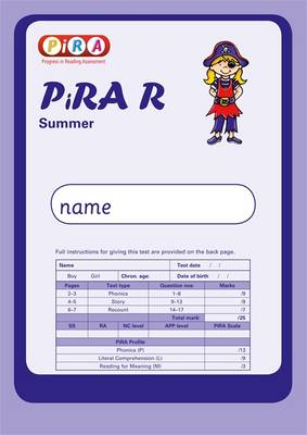 Progress in Reading Assessment Test R, Summer Pk10 by Colin McCarty, Kate Ruttle