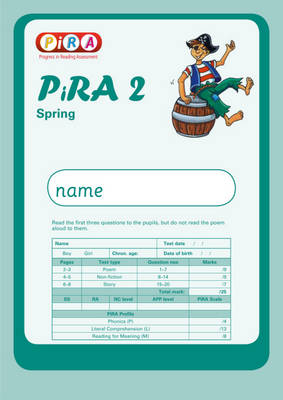 Progress in Reading Assessment Test 2, Spring Pk10 by Colin McCarty, Kate Ruttle