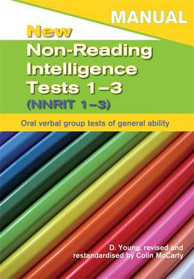 New Non-Reading Intelligence Tests 1-3 Specimen Set by Dennis Young, Colin McCarty