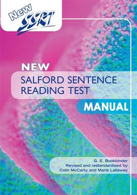 New Salford Sentence Reading Test: Manual by Colin McCarty, Marie Lallaway