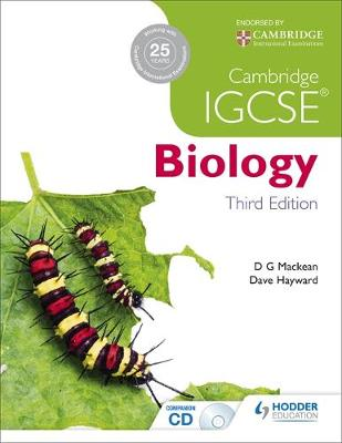 Cambridge IGCSE Biology by D. G. Mackean, Dave Hayward